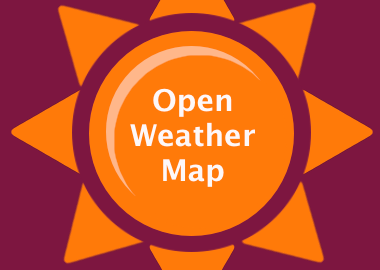 Query OpenWeatherMap for current weather using with PHP