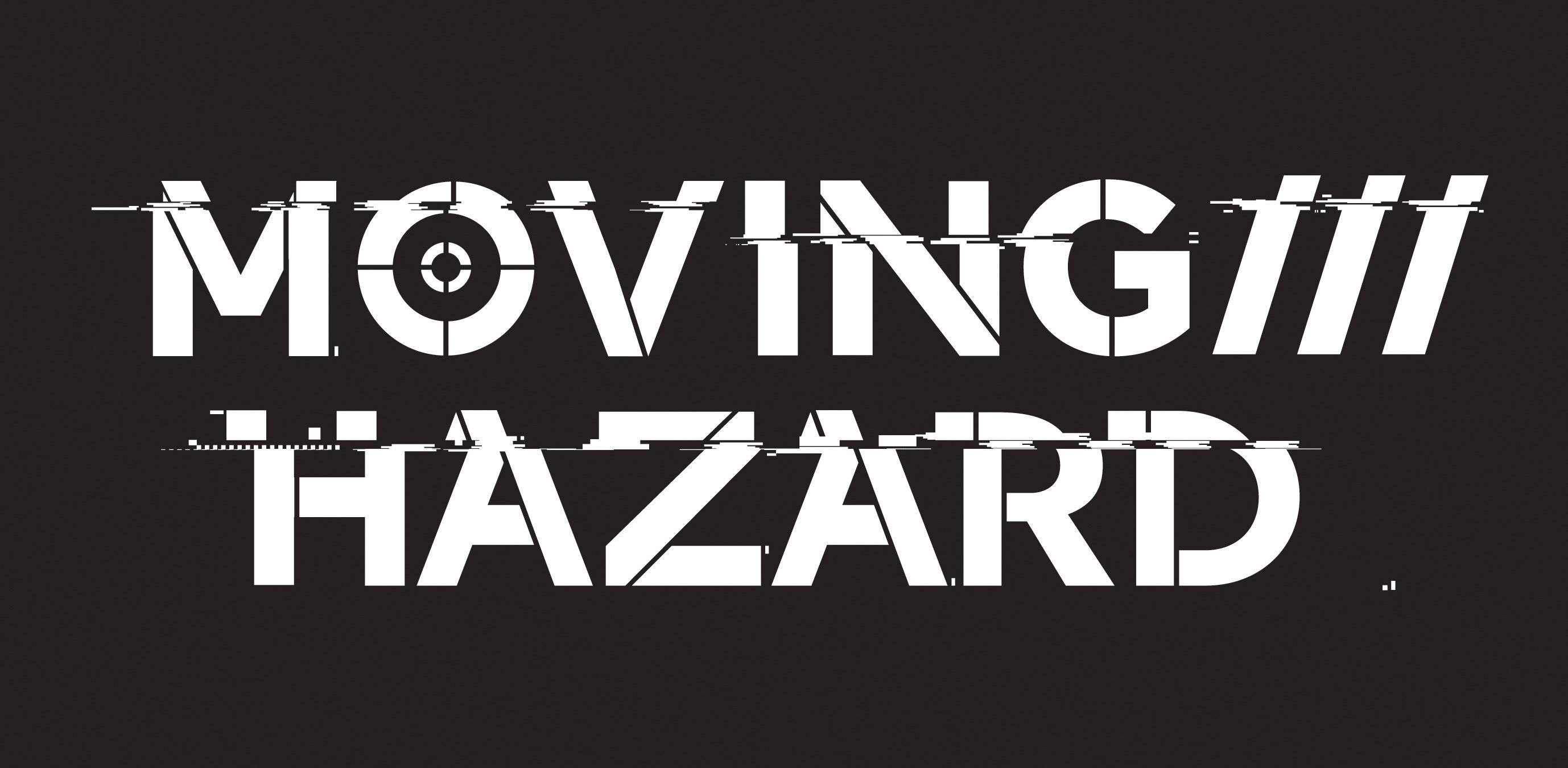 moving hazard logo